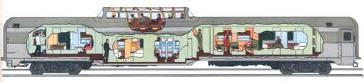 bi level floor plans the pullman company in america cruising the past