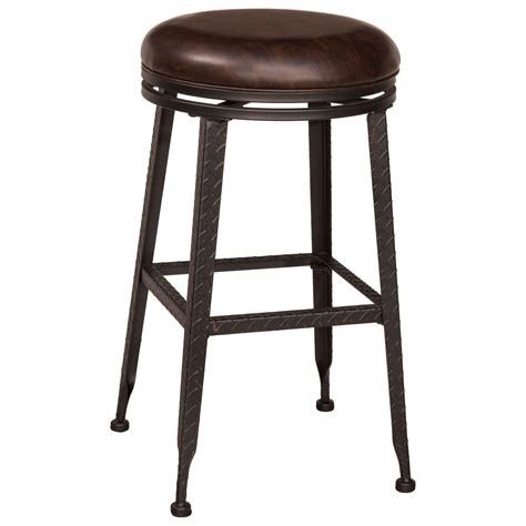 Backless Stools by Hillsdale Backless Bar Stools Black Metal With Copper