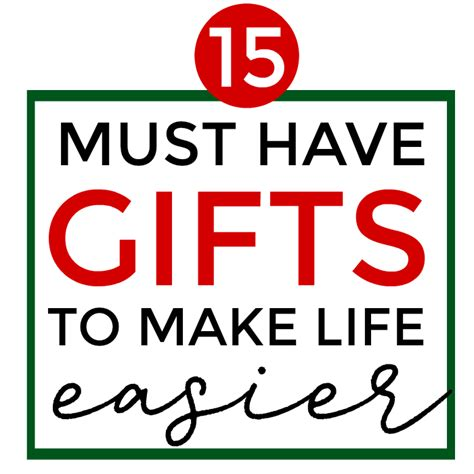 15 must have xmas gifts 15 must gifts to make easier