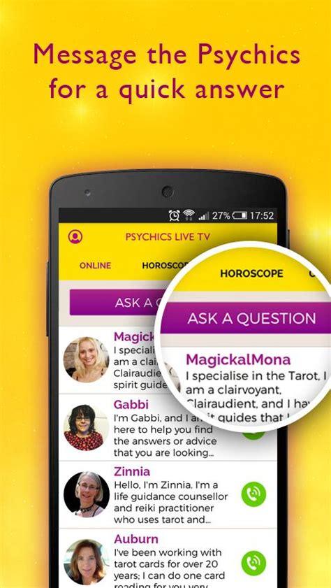 Psychics Live Horoscopes, Tarot, Readings  Android Apps