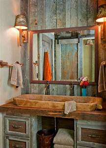 Holz Im Badezimmer : die besten 17 ideen zu rustikale waschbecken auf pinterest ~ Lizthompson.info Haus und Dekorationen