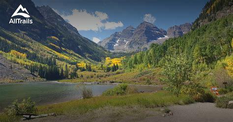 maroon bells colorado snowmass wilderness aspen alltrails map trail parks hiking trails area near