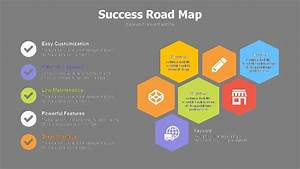 Road Map Image For Powerpoint Success Road Map Powerslides