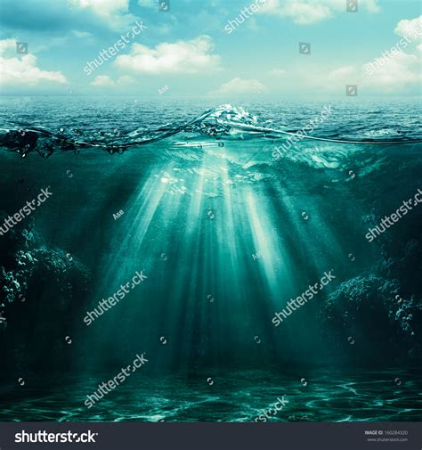 Abyss Abstract Environmental Backgrounds Your Design Stock