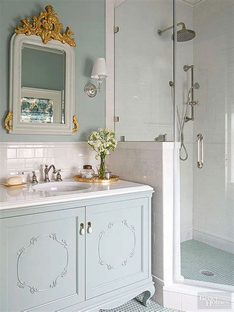 furniture great image of blue bathroom shower decoration best 25 small vintage bathroom ideas on
