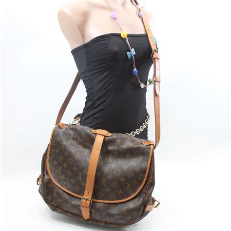 louis vuitton monogram saumur  bag lvjs bags  charmbags  charm