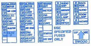 Nissan Tiida 2007 Main Fuse Box  Block Circuit Breaker Diagram  U00bb Carfusebox