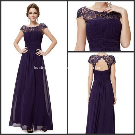 china purple lace chiffon formal bridesmaid dresses p