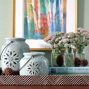 Laura's Fall Decorating Vignettes - Pottery Barn