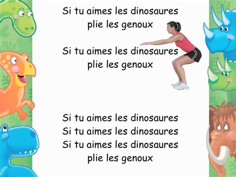 si鑒e auto comptine si tu aimes les dinosaures prehistoire youtubers