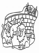 Daniel Coloring Den Lions Pages Crafts Noah Ark Printables Wise Lion Clipart Three Cliparts God Bible Popular Clip Coloringhome Library sketch template