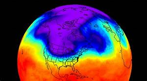 Nasa U0026 39 S Infrared Imagery Shows Cold Snap Over Canada Reaching