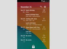 [WIDGET][40+] Event Flow Calendar Widget Android