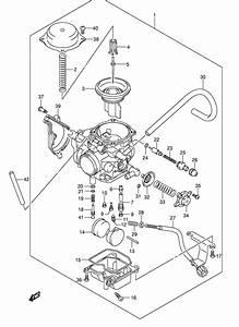 Carburetor For 2004 Suzuki Lt X  Xz  Xp  Xpz