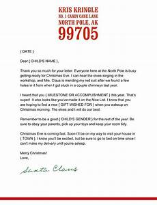 Create your own letter from santa letter of recommendation for Write your own letter from santa