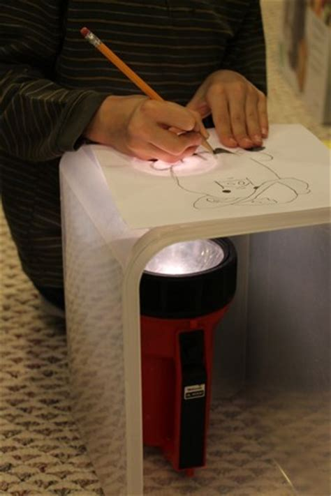 how to make a light box for pictures diy tracing light box made in seconds using household