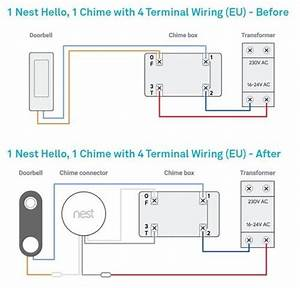 Wiring Diagram Doorbell Two Chimes