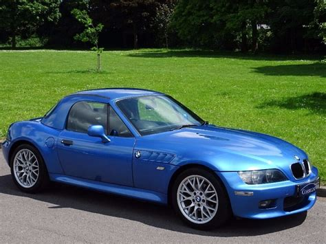 bmw z3 hardtop 2002 bmw z3 2 2 sport 2dr top included in poole