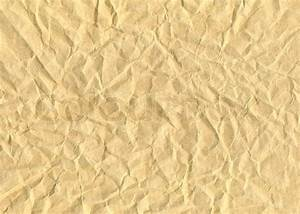 Textured obsolete crumpled packaging brown paper ...