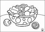 Coloring Navigation Pdf Salad2 sketch template