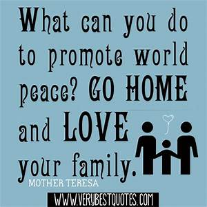 INSPIRATIONAL QUOTES ABOUT FAMILY AND HOME image quotes at ...
