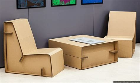 awesome cardboard furniture designs furniture ideas