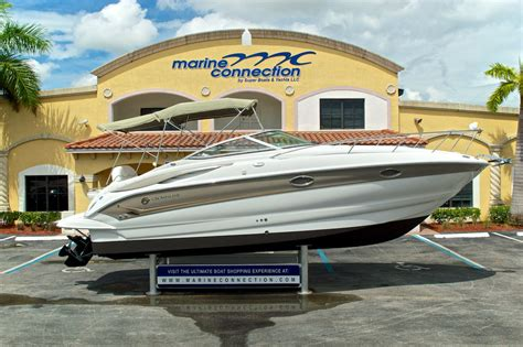 Crownline Outboard Boats For Sale by Used 2004 Crownline 270 Cr Cruiser Boat For Sale In West