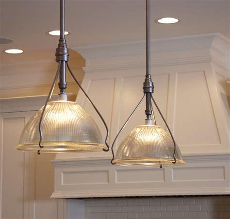 vintage pendant lights for kitchens vintage holophane pendants traditional kitchen island