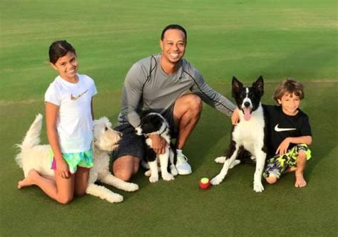SEE CUTE PICTURES OF TIGER WOODS WITH HIS CHILDREN