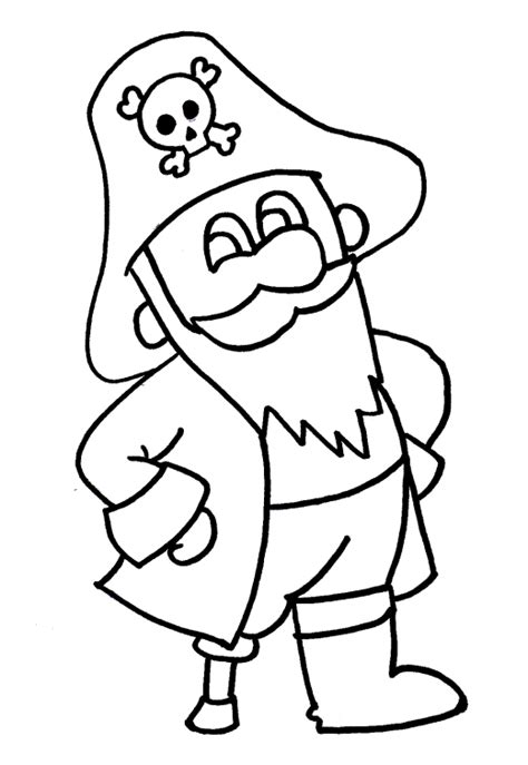 pirate coloring page pirate colouring