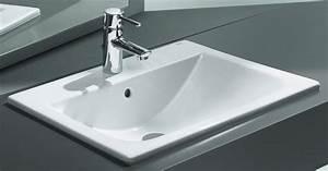 Vasque à Encastrer : vasque diverta encastrer recouvrement ~ Edinachiropracticcenter.com Idées de Décoration