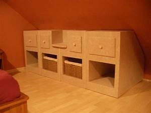 Meuble Pour Comble : meuble sous comble mes combles ~ Edinachiropracticcenter.com Idées de Décoration