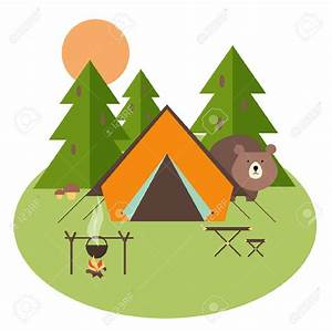 Pin by sylvia mead on Crafts | Camping clipart, Tent ...