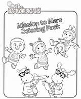 Mission Coloring Template sketch template