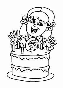 Dessin Gateau Anniversaire : coloriage anniversaire ~ Melissatoandfro.com Idées de Décoration