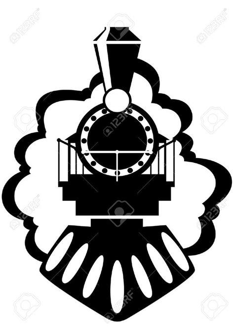 Stock Photo   Train vector, Train silhouette, Locomotive