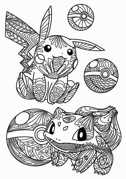 Pokemon Coloring Pages Games Printable Christmas Getcolorings