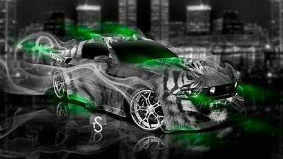 Ford Tiger Mustang Fantasy Smoke Tony Neon
