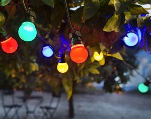 Guirlande Lumineuse Exterieur Solaire : guirlande lumineuse ext rieur multicolore becquet ~ Dailycaller-alerts.com Idées de Décoration
