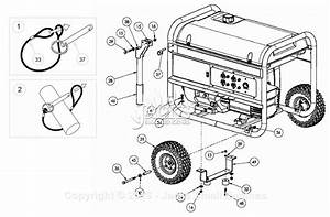 Powermate Formerly Coleman Pm0497000 Parts Diagram For