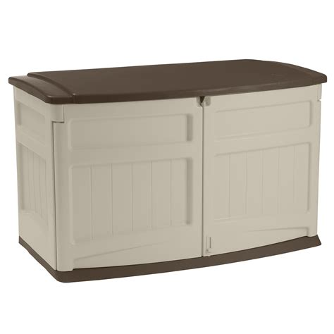 vertical storage shed sears suncast gs1000b garden shed horizontal bronze lid 4 ft
