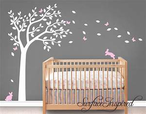 wall decal nursery wall decals tree decal with adorable With nursery wall stickers