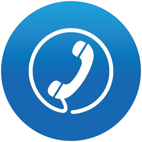 blue phone icon transparent telephone clipart blue png pencil and in color telephone