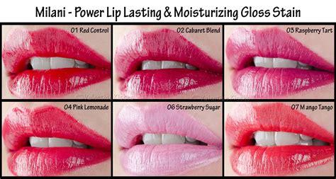 valentine kisses milani power lip lasting moisturizing