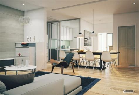 Apartment With Artistic Flair Visualized apartment with artistic flair visualized