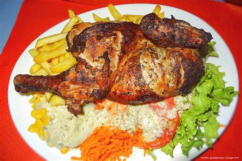 cuisine guadeloupe jp poulet grillé créole insolite guadeloupe voyage