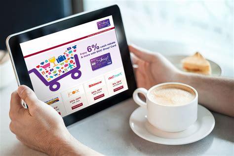 edm bank  china singapore shop card promotion