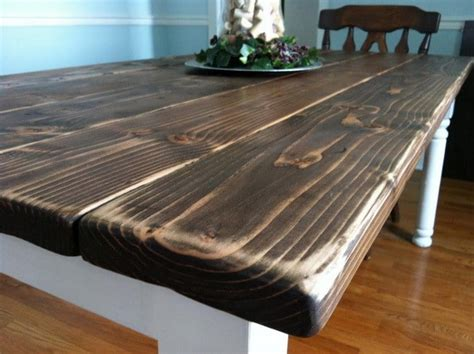 how to build a vintage style dining room table yourself