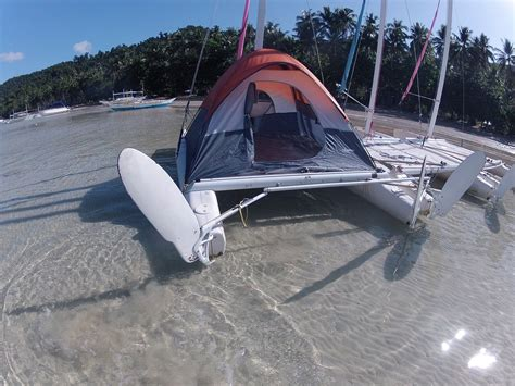 Catamaran Dinghy For Sale by Catamaran Cing In The Philippines Boom Tents And