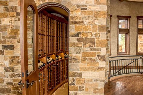beautiful wood wine cellar  display shelves  pagosa
